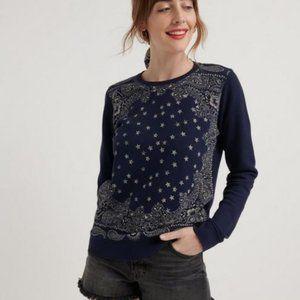 Lucky Brand Stars Sweatshirt